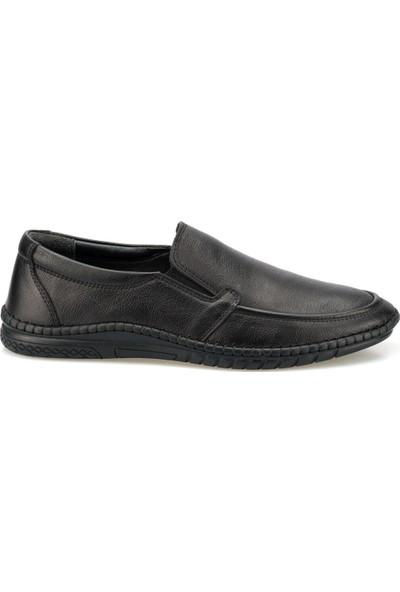 Polaris 5 Nokta 102113.M Siyah Erkek Comfort Ayakkabı