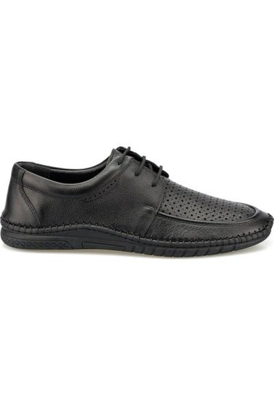 Polaris 5 Nokta 102114.M Siyah Erkek Comfort Ayakkabı