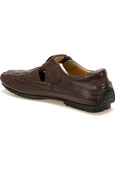 Flogart G-82 Kahverengi Erkek Klasik Ayakkabı