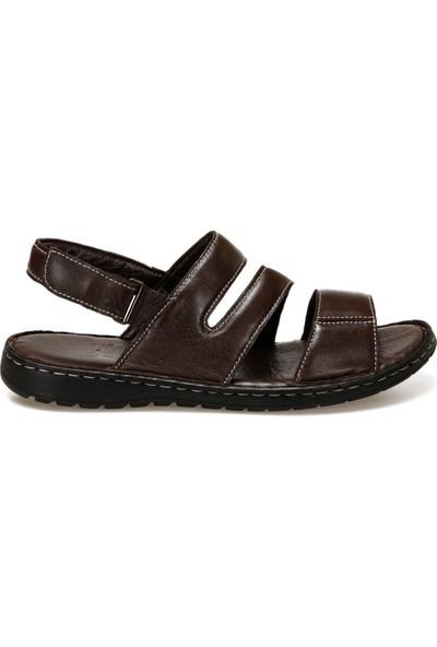 Flogart INT1120Y118 Kahverengi Erkek Sandalet