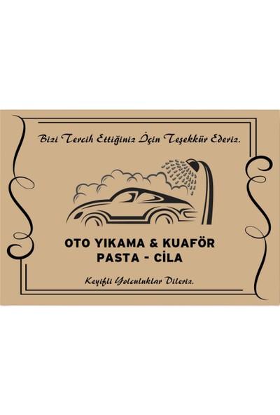 Doğuş Kalın Kraft Oto Paspas / 100 Adet / YATAY 50 x 35 cm