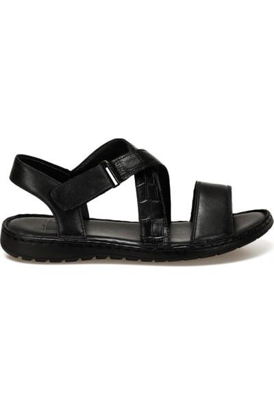 Flogart INT1120Y119 Siyah Erkek Sandalet