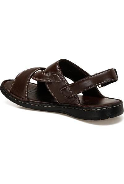 Flogart INT1120Y121 Kahverengi Erkek Sandalet