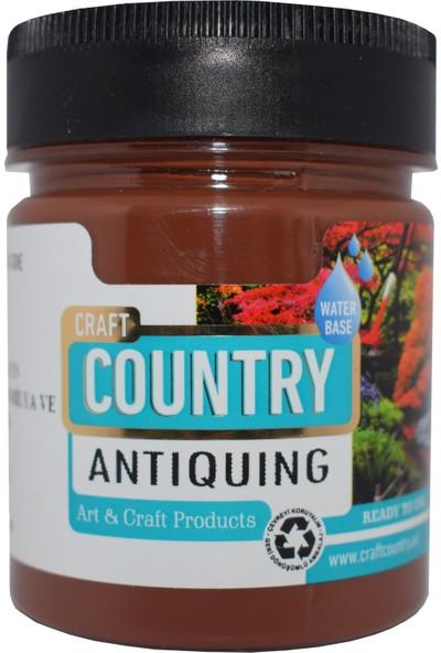 Craft Country Antiquing Hobi Boyası 550 cc 7001 Kahverengi