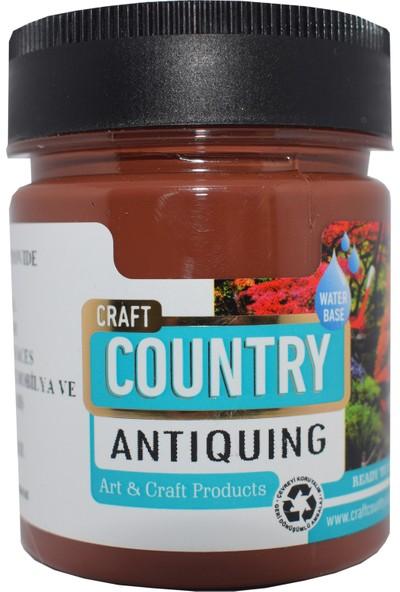 Craft Country Antiquing Hobi Boyası 120 cc 7002 Kızıl Kahverengi