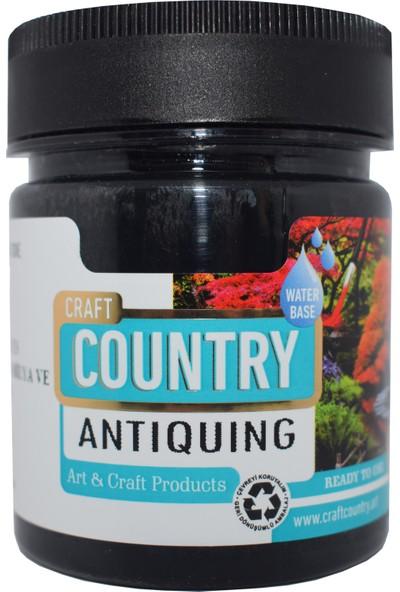 Craft Country Antiquing Hobi Boyası 120 cc 7003 Siyah