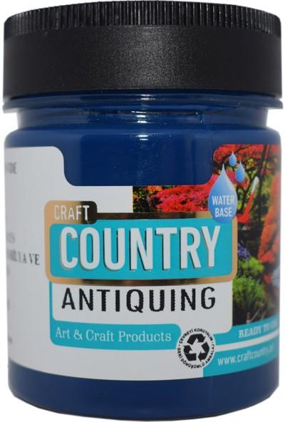 Craft Country Antiquing Hobi Boyası 120 cc 7006 Mavi