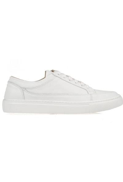 Ziya Erkek Deri Ayakkabı 103302 Snk1 Beyaz