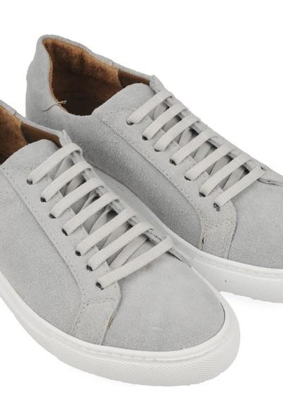 Ziya Erkek Deri Ayakkabı 103302 Snk2 Kırıkbeyaz