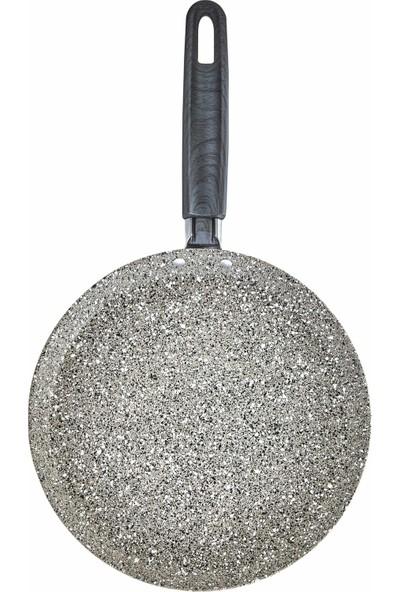 Karaca Dark Silver Bio Granit Krep Tava 24 cm