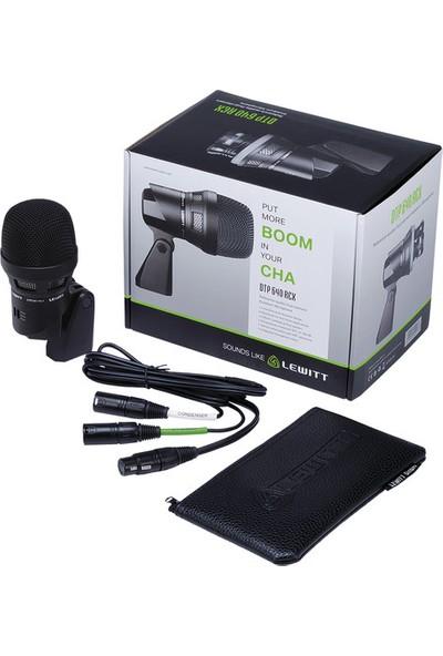 Lewitt DTP640 Rex Çift Kapsüllü Kick Mikrofon