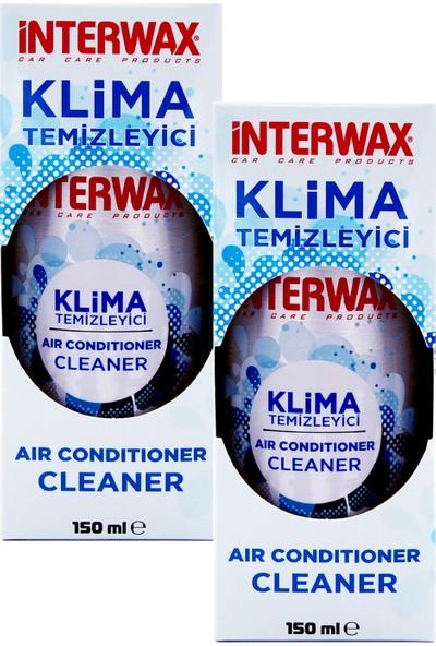 Interwax Limon Kokulu Klima Temizleyici Klima Bombası 150 ml (2 Adet)