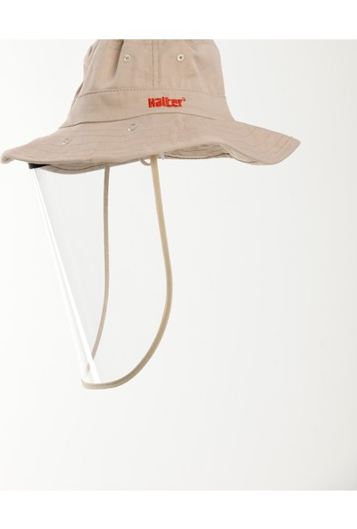 Halter Siperlikli Yüz Koruyucu Şapka