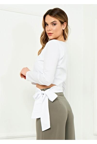 Arzu Gürbüz Kadın Bagcikli Aria Bluz