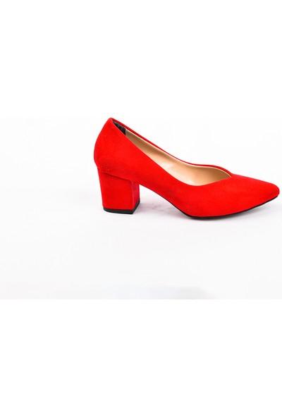 Park Moda PM09 K702 Kare Topuk Ayakkabı