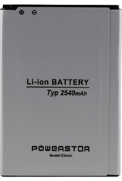 Powerstar LG G3 Mini BL-54SG/D722 Uyumlu Batarya