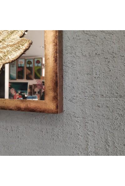 Atl Dekor Almira Altın Bronz Ayna