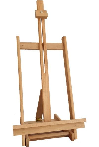 Pin Hobi & Tasarım Yağlı Boya Hobi Seti - Ahşap Masaüstüı Şövale