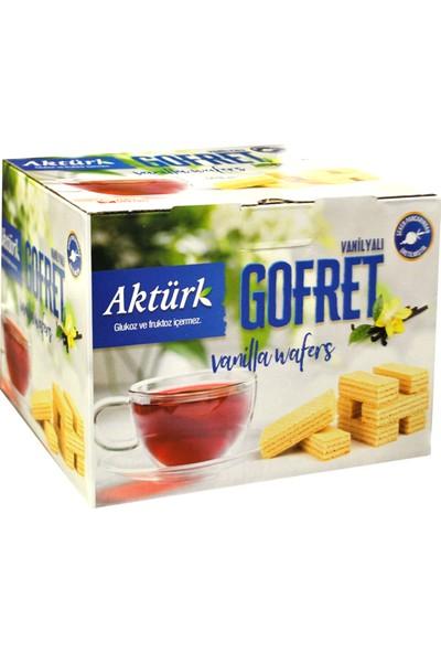 Aktürk Gofret Taze Kaymaklı Sade Vanilyalı 1 kg