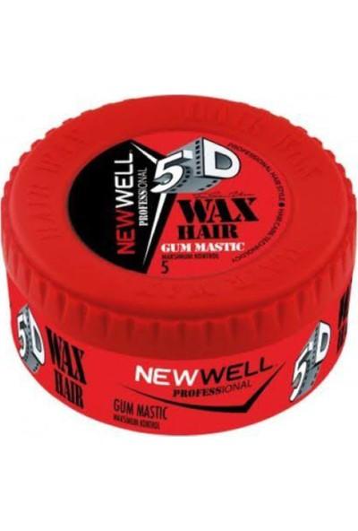 New Well Kırmızı 150 ml Wax