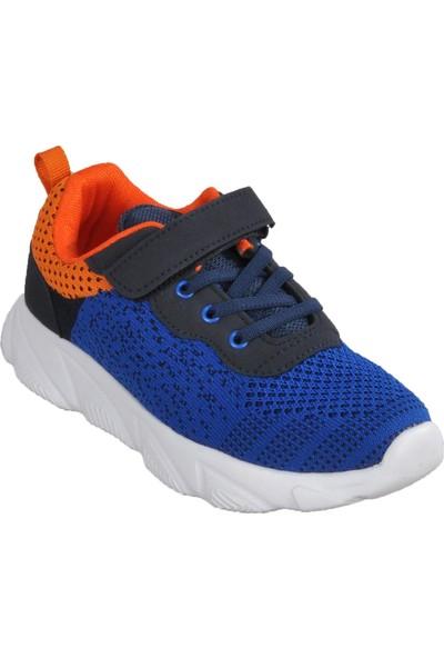 Cool 20-S10 Saks-Turuncu Çocuk Spor Ayakkabı