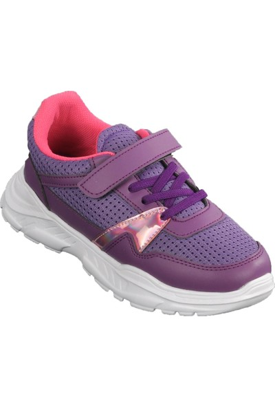 Cool 20-S11 Mor Çocuk Spor Ayakkabı