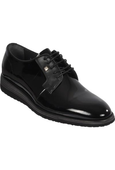 Fosco 1529 Siyah Rugan Erkek Klasik Ayakkabı