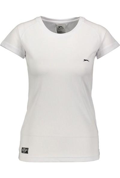 Slazenger Relax Beyaz Kadın T-Shirt