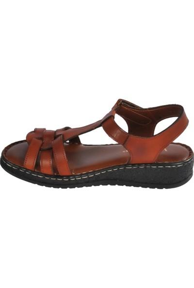 Voyager 8149 Taba Kadın Sandalet