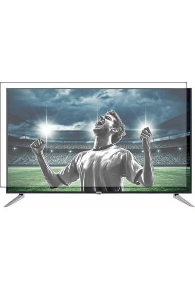 Nunamax Nano2mm VESTEL 65U9500 - Kırılmaz TV Ekran Koruyucu