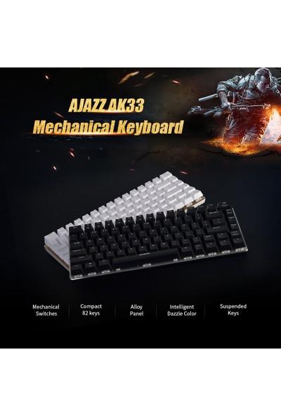 Ajazz AK33 82 Tuş Mekanik Oyun Klavye (Yurt Dışından)
