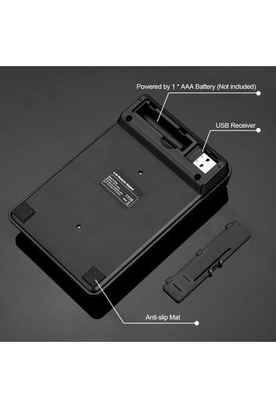 Buyfun 2.4 Ghz Kablosuz 19 Tuş Rakam Klavye Siyah (Yurt Dışından)