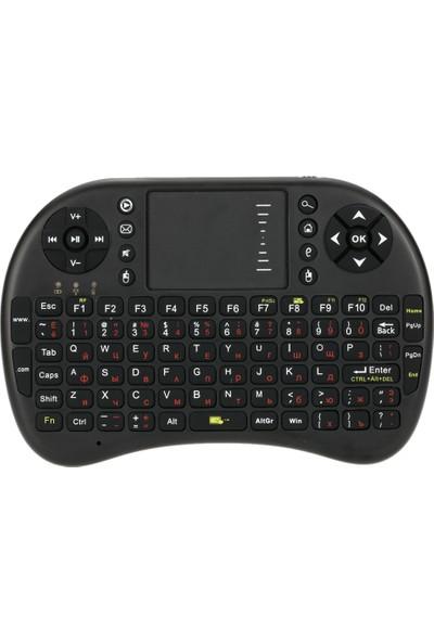 Buyfun Rusça 2.4G Kablosuz Klavye Touchpad ve Fare (Yurt Dışından)