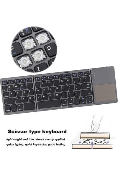 Buyfun Katlanır Bluetooth Kablosuz Klavye (Yurt Dışından)