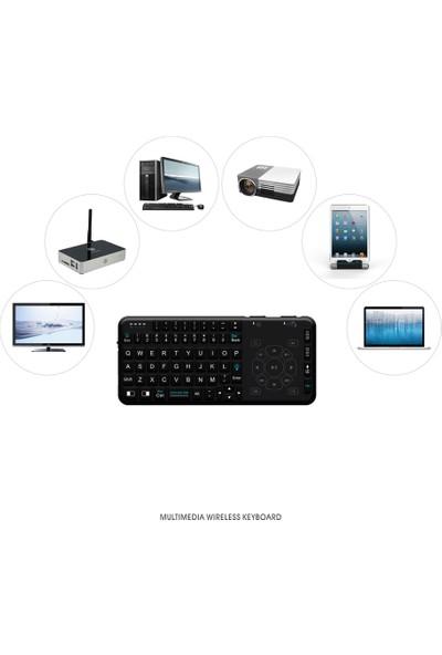 Rii RT504 2.4G Kablosuz Mini Klavye ve Touchpad (Yurt Dışından)