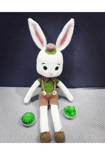 Nuh Home El Yapımı Erkek Oyuncak Tavşan Bebek