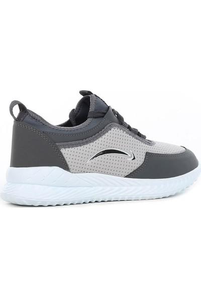 Mevese Füme Beyaz Erkek Spor Ayakkabı