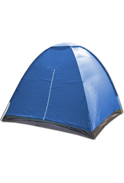 Savage Yüksek Kamp Çadırı 4 Kişilik Mavi (240*210*180 Cm)