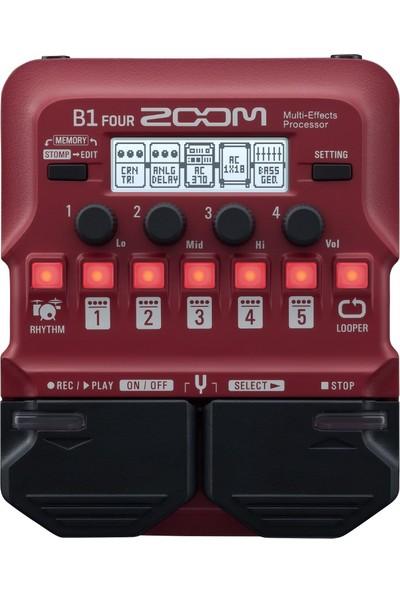 Zoom B1 Four Bass Multi-Efekt Prosesörü
