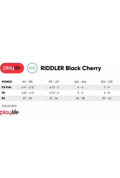 Playlıfe Rıdler Black Cherry Ayarlanabilir Çocuk Pateni