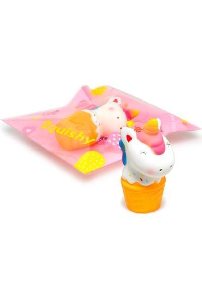 Şeker Ofisi Squishy Unicorn Dondurma Sukuşi 12 cm