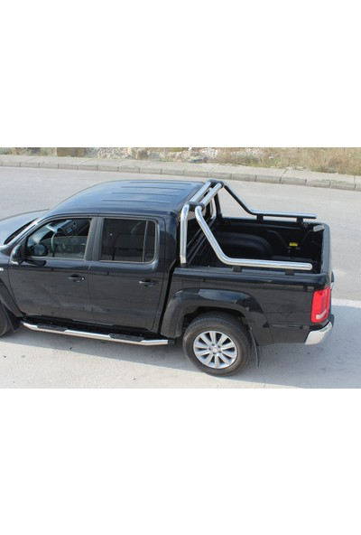 Meliset Ford Ranger Kobra Roll Bar Q76 Krom 2006-2011