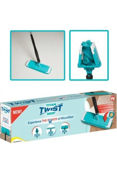 Titan Twist Yer Fayans Parke Temizleme Sıkmalı Sistem Mop