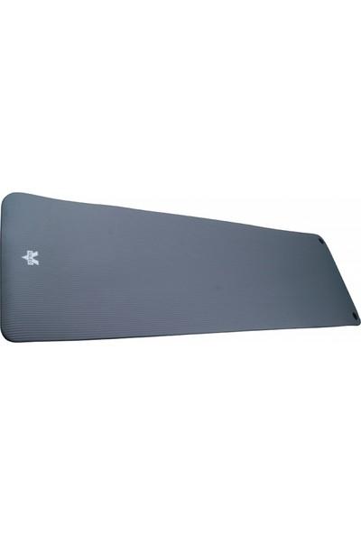 Valeo 1.5 cm 180X60 Gri Delikli Fitness Matı