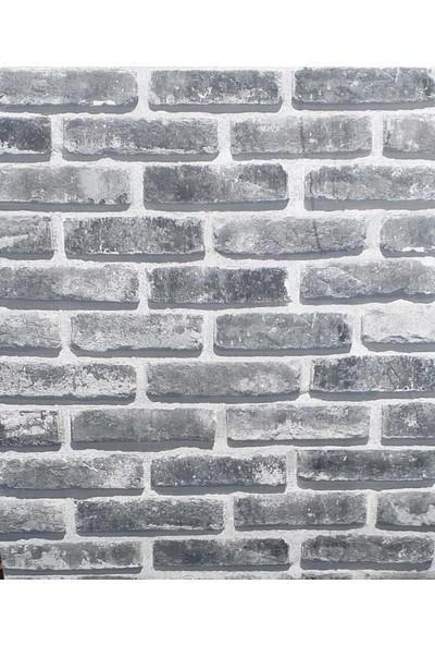 Wall 212 3 Boyutlu Gerçek Taş Görünümlü Duvar Kağıdı