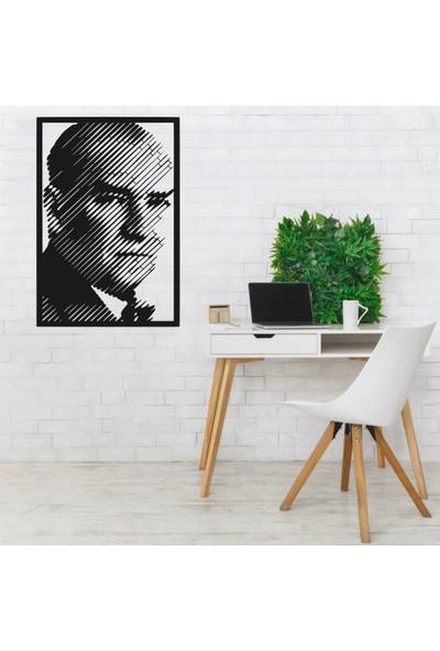 Vatmart Atatürk Portre Dekoratif Metal Duvar Tablo