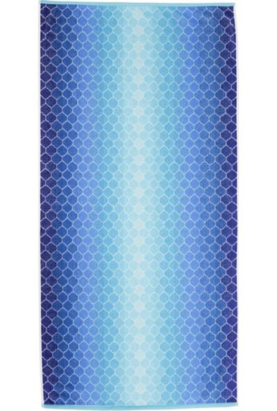 Özdilek Summer Heat New Ombre Kadife 70 x 140 cm Plaj Havlusu