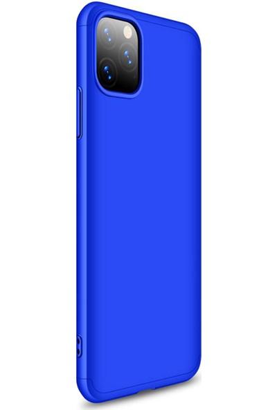 Vendas Apple iPhone 11 Pro Max Full Body Tam Kaplama Koruyucu Kılıf - Mavi