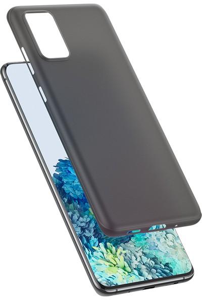 Vendas Samsung S20 Plus Wing Serisi Ince Silikon Kılıf - Siyah