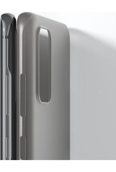 Vendas Samsung S20 Wing Serisi Ince Silikon Kılıf - Siyah